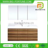 Wholesale cabinet three mirror lowest bathroom vanity combo                                                                                                         Supplier's Choice