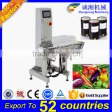 Trade assurance full automatic check weigher for fruit/bag,auto bag check weigher                                                                         Quality Choice