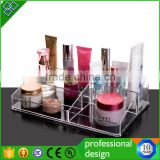 10 Years Factory Clear Acrylic Nail Polish Table Display Rack / Acrylic Nail Polish Stand