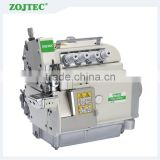 EX5104DD Direct drive 3 thread top and bottom feed overlock sewing machine,cylinder bed