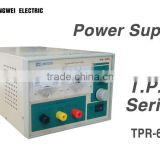 Single Channel Output 64V 5A Adjustable Linear DC Power Supply For Electronic Production Line