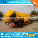 DongFeng 2axles sewer tank truck liquid waste suction truck for price