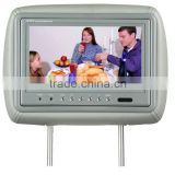 9 inch headrest monitor with pillow