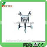 Foshan Aluminum Delta With Basket /shopping bag/meal plate/brakes --3wheels