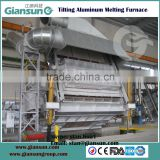 10T aluminum billet log rod casting line