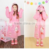 PVC rain coats for kids Esschert Design Disposable Children or women used Pvc Rain Poncho/Raincoat or Rain Coat