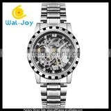 WJ-5444-2 stainless steel men automatic mechanical waterproof Nary fancy business wrist watch