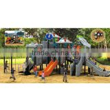 Commercial eco-friendly spaceship-style outdoor toy with 19 optional site sizes