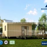 sandwich panel expandable container house Japanese Standard with solar system and light steel structure