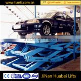 car parking system hydraulic lift for home garage