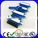 Swimming pool cleaning equipment, 14'' pool vacuum head with side brushes
