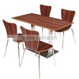 Quanya KFC Mcdonald's fast food restaurant cheap bentwood chair