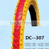 colorful children bicycle tire factory manufacturer 12''*1.75/2.0/2.2/3.0/4.0 MTB velo bisiklet tire