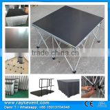 RK 4ftx4ft platform adjustable portable event stage folding portable stage collapsible stage