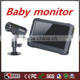 "Digital 5"" TFT 2.4G / 5.8G Monitor Mini Wireless 8CH DVR IR Night Camera CCTV Security Camera System Baby Monitor Motion Detect"