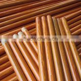 PVC covered standard threaded eucalyptus wood broom stick                                                                         Quality Choice