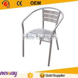 Gold Supplier All Weather Cast Aluminum Product Garden Furniture Aluminium Chair