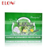Flower Acid Green Melon Moisturizing Facial Mask
