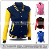 custom Design pro sublimation baseball team jacket