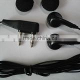 High quality stereo one time use aviation airplane earphone headphones
