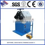 Flat Bar Rolling Bending Machine,Steel Bar Hydraulic Section Bender