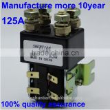 SW82 SW120 dc contactor Magnetic DC Contactors magnetic electrical winch similar albright dc contactor 125A double contactor