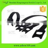 Reusable Adjustable Black Hook Loop Cable Wire Cord Tie Straps