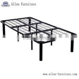 Metal Bed base and box spring twin size with 8 legs