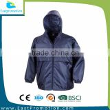 CUSTOM MENS HOODED LIGHTWEIGHT FASHION SHOW DESIGNER WATERPROOF WINDBREAKER JACKET