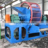 Best factory price tire recycling shredder / tire shredder line / mobile tire shredder
