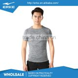 ERKE brand summer cool short sleeve polyester quick dry wholesale mens sports running tee shirt