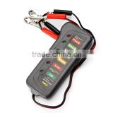 2016 new arrival Car Digital Battery Auto Alternator Tester with LED Light Display Car Styling Battery Diagnostic Tool universal