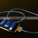 Best-selling usb el wire for iphone/earphone/charge cable