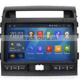 Quad Core Pure android 4.4.4 Car GPS for Toyota Land Cruiser 200 with Capacitive screen 1.6G CPU 1G RAM Radio audio player
