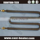 w shape electric air tube heater for load bank