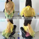 china manufacturer plastic hair cutting capes,disposable hair dressing capes
