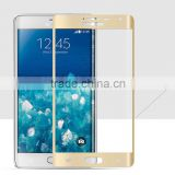 High Quality!!!!! Gold Color Full Body Bulletproof Tempered Glass Screen Protector for Samsung Galaxy Note Edge