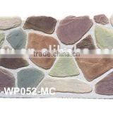 polyurethane foam panel, colored stone panel,2kg light weight, wall panel for decoration