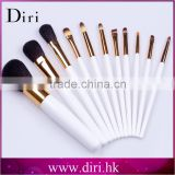 Pearl White Handle Makeup brush set Pro 11pcs make up brushes Diri Factory Price Girls' Cosmetics tools brush