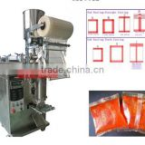 Back Seal Automatic Liquid Packaging Machine Sachet making machine for honey chili sauce