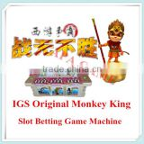 IGS IGS Western Journey II -- Invincible Wu Kong monkey king Roulette Betting slot game board Machine