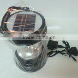 Best solar camping lantern for travel and hiking, Hand Crank solar light with radio with mobile phone charger