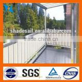 High quality HDPE balcony enclosure nets Protection of privacy ,Effectively reduce sunlight and ultraviolet