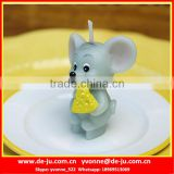Small Mouse Tom Shaped Candle Wax Animal Figures