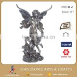 Cheap Bronze Garden Sculpture Flower Fairy Figurine Wholesale