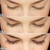 Eyelash enhancement for lash thicker