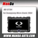 car multimedia for Ssangyong Micro Stavic 2004 oem Replacement Navigation car monitor auto parts