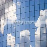 Silver green dyed reflective infrared heat well designed building solar tint film for window glass