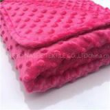 27 Colors Available Polyester Summer Use Breathable Security Baby Bubble Dots Minky Blanket
