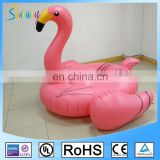 Large Ride On Blow Up Swimming Summer Fun Games Inflatable Flamingo Pool Float Toy